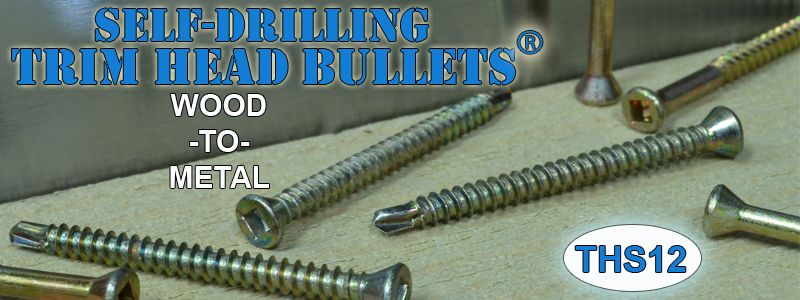 Trim Head Screws Self Drilling